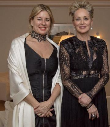 """Magic moment"" mit Sharon Stone!"